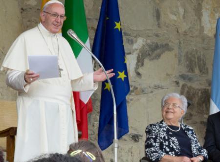 La verità sui Focolari : oggi il Santo Padre Francesco incontra la Presidente, Maria Voce e il Co-presidente, Don Jesus Moran.